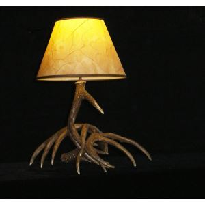 Artistic Antler Featured Table Lamps with 1 Light
