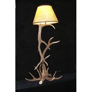 Artistic Antler Featured Floor Lamps with 1 Light