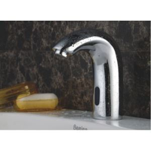 Contemporary Sensor Chrome Bathroom Sink Faucet