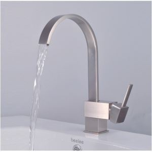 Durable Solid-brass Construction Bathroom Sink Faucet