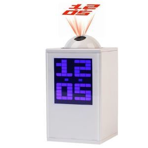 Influx of People Love The Projection Clock (Black or White Color Randomly)