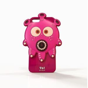Fashion Silicone Personalized Three-dimensional Drop Resistance Iphone5 Shell