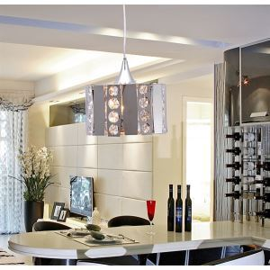 Contemporary Modern Crystal & Stainless Steel Pendant Lights ceiling lights s