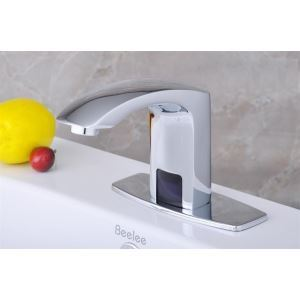 Chrome Bathroom Sink Faucet with Hydropower Automatic Sensor (Cold)