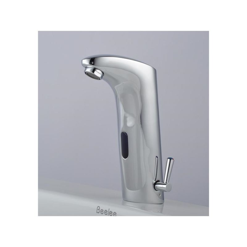 Faucets - Sensor Faucets - Brass Bathroom Sink Faucet with Automatic ...