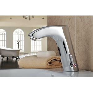 Brass Bathroom Sink Faucet with Automatic Sensor (Hot and Cold)