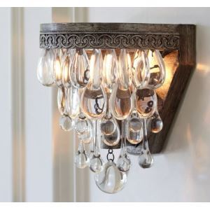 Retro Lamps Luxury Crystal Wall Light