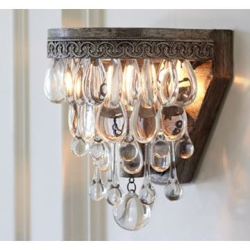 Best Crystal Wall Lights : Lighting - Wall Lights - Crystal Wall Lights - Retro Lamps Luxury Crystal Wall Light