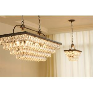 Retro ceiling lights s Luxurious Crystal Pendant Lights