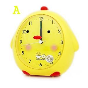 Cartoon Style Mute Alarm Clock 6""