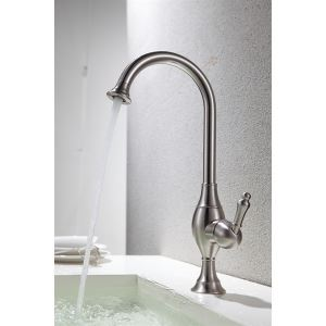 Solid Brass Brushed Kitchen Faucets (HM3018)