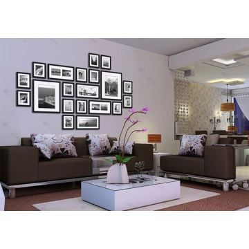 home decor picture frames in stock photo wall frame