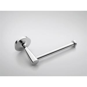 Contemporary Brass Paper Holder-Chrome Finish