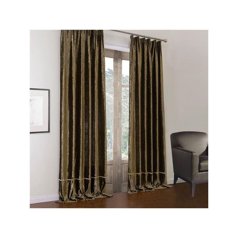 Curtains Blackout Curtains One Panel Modern Dark
