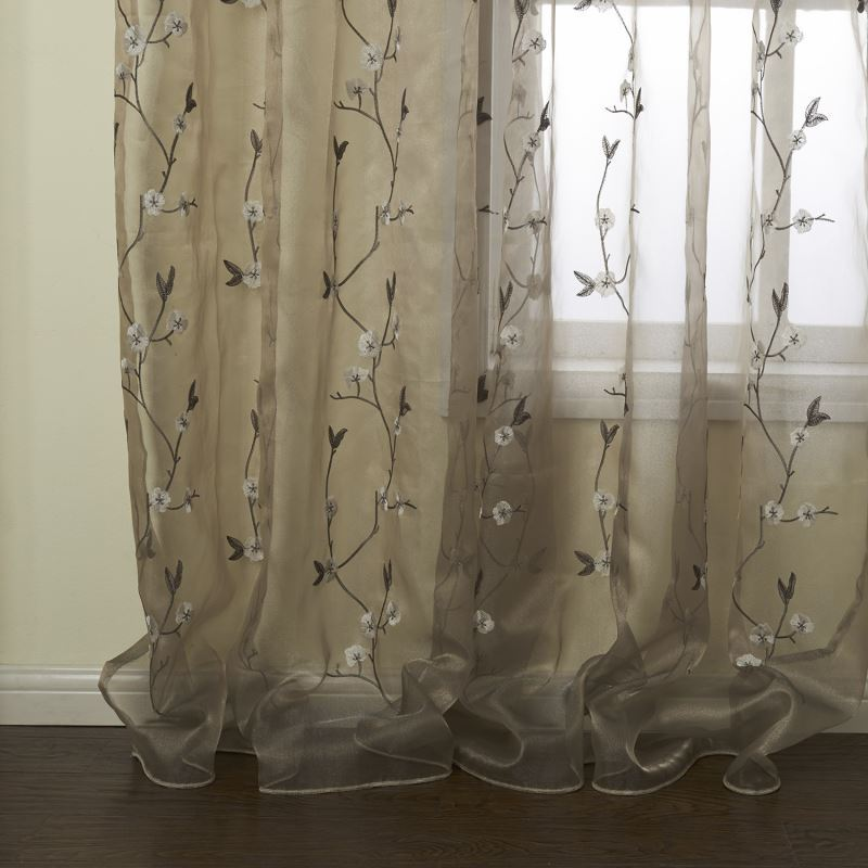 Curtains Sheer Curtains One Panel Country