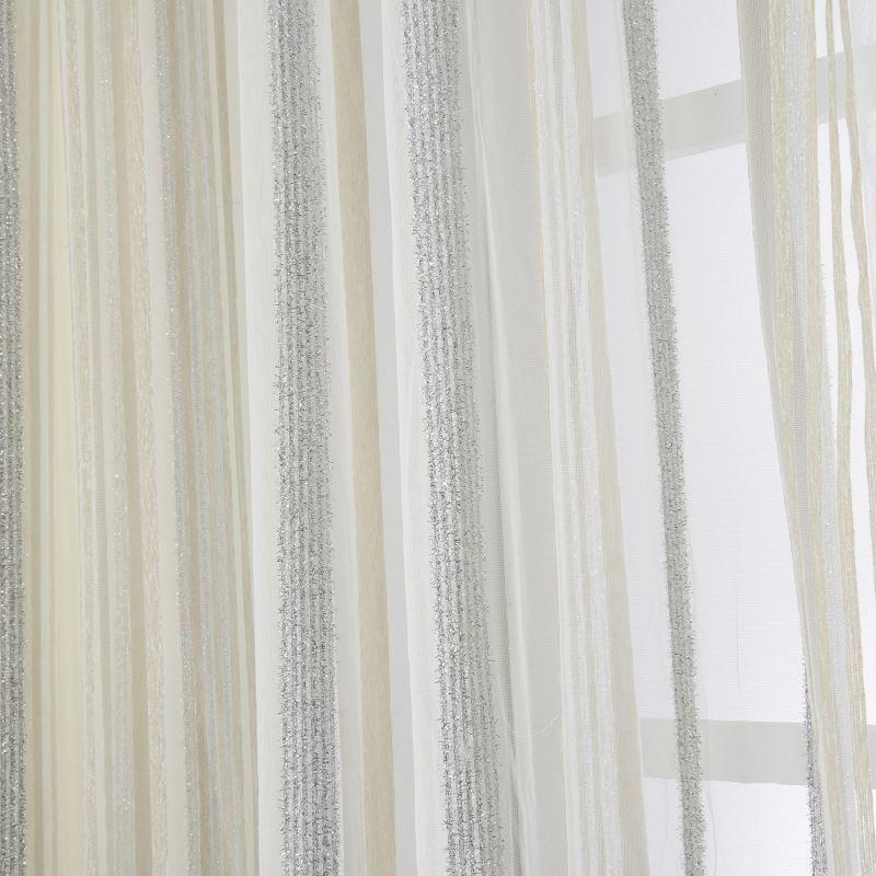 Curtains Jacquard Curtains One Panel Modern