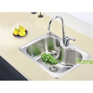 23 inch Topmount Sink Stainless Steel Kitchen Sink (Single Bowl) (Faucet Not Included)