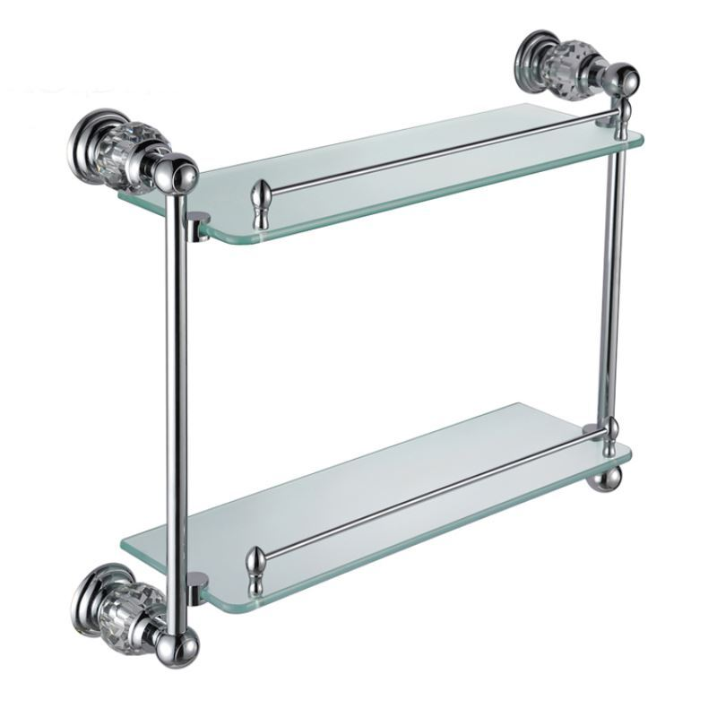 Lastest Choose A Style To Complement Your Bathroom Including Wooden Shelves, Glass Bathroom Shelves, Chrome Shelves And Stainless Steel Options