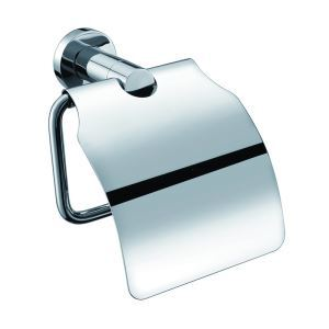 New Modern Chrome-colored Bathroom Accessories Solid Brass Roll Holder