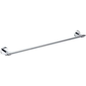 New Modern Chrome-colored Solid Brass Towel Bar