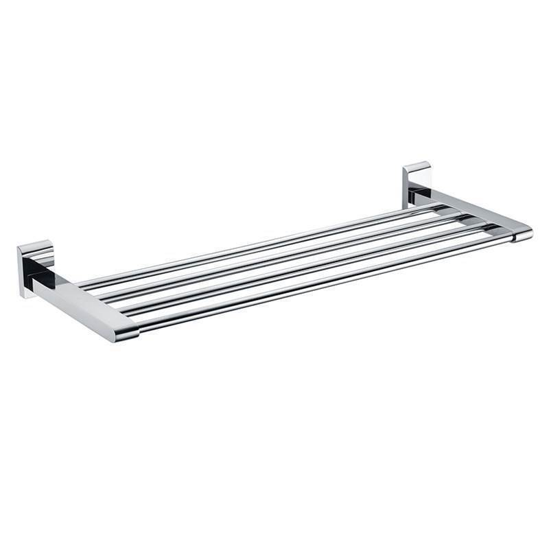 Bathroom Towel Bars New Modern Chrome Finish Solid