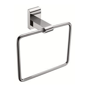 New Modern Bathroom Accessories Solid Brass Towel Ring