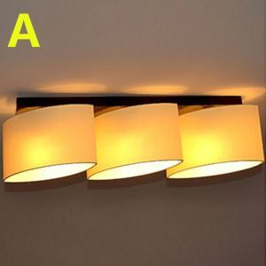 Modern Contemporary 40W Flush Mount 3-light Ceiling Light with Fabric Shade