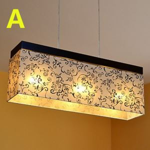 Modern E12/E14 Contemporary 3-light ceiling lights  40W Pendant Light with Fabric Shade