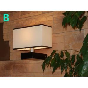 Modern E26/E27 Lighting Contemporary 1-light 60W Wall Light with Fabric Shade
