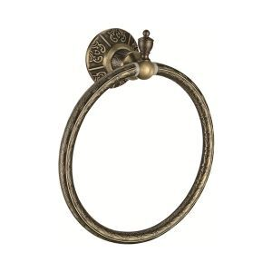 Antique Oil Rubbed Bronze Finish Wall-mounted Towel Ring