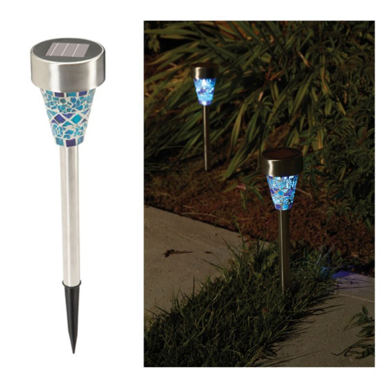 Lighting Outdoor Lighting Led Solar Lights Set Of 2