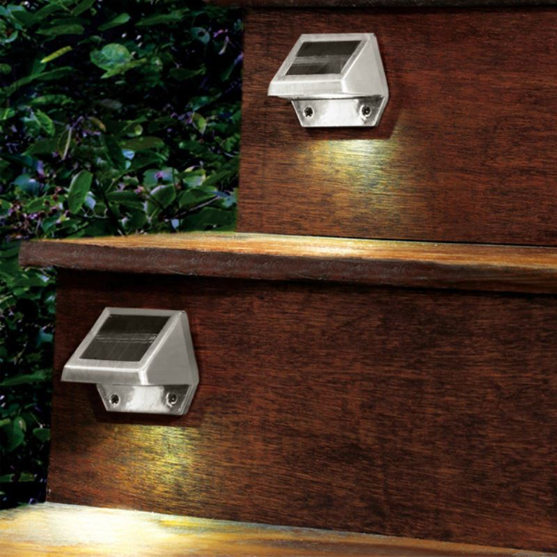 outdoor lighting led solar lights outdoor solar 4 led powered wall