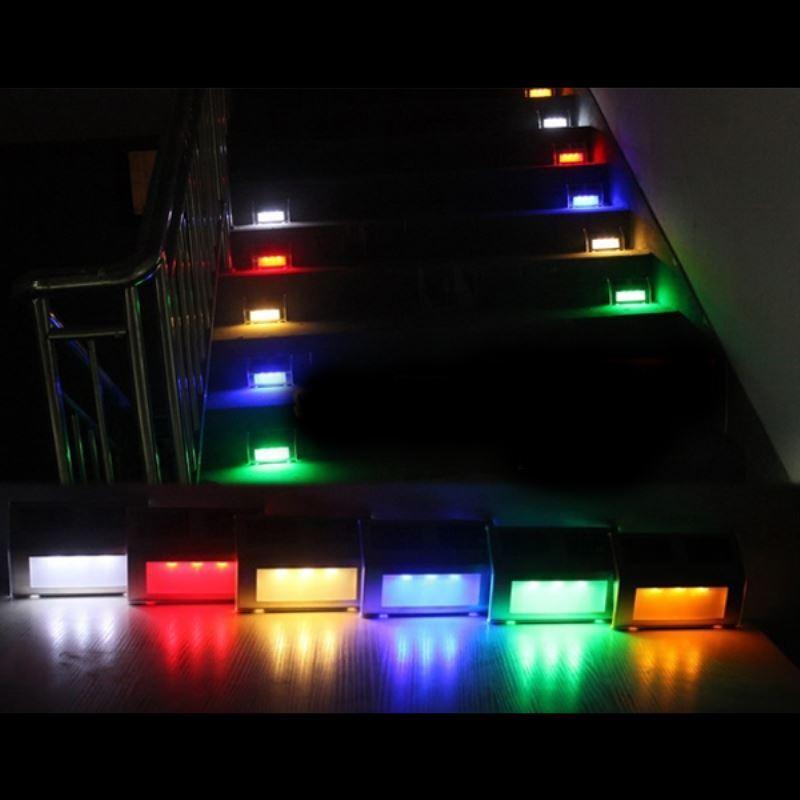 lighting outdoor lighting led solar lights 3 led color changing outdoor waterproof solar. Black Bedroom Furniture Sets. Home Design Ideas