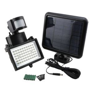 Bright Solar Power 60 LED Motion Sensor Security Wall Light Flood Lamp Spotlight