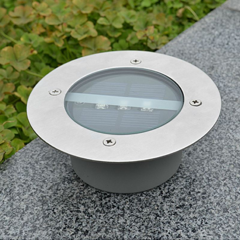 Http Www Homelava Com En Solar Power Round Recessed Deck Dock Pathway Garden Led Light P23614 Htm