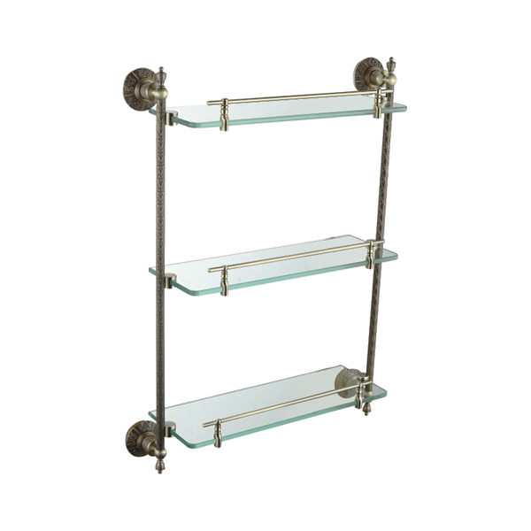 Bathroom Bath Shelves Oil Rubbed Bronze Antique Finish