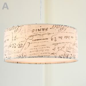 Country Style E26/E27 Pendant Light 2~3-light 60W ceiling lights  with Fabric Shade