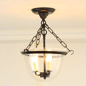 Country Style 40W E12/E14 Pendant Light 3-light ceiling lights