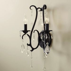 Artistic Country Style E12/E14 40W 2-light Decorative Wall Light with Candle Features