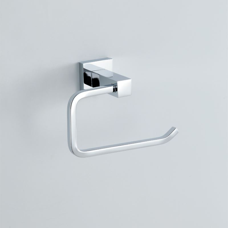 Bathroom Toilet Roll Holders Modern Contemporary Silver Chrome Finish Toi