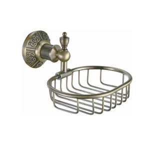 Antique Oval Bronze Soap Rack Wall Mounted Brass Soap Holder