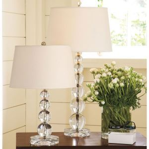40W E26/E27 Modern Contemporary Crystal & Fabric Table Lamp