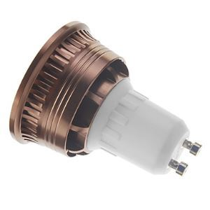 GU10  LED Spotlight Brown Color
