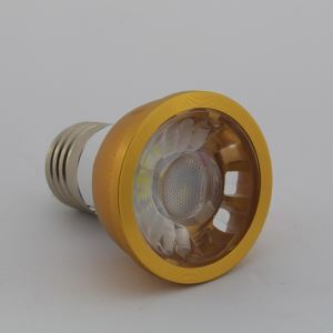 E27 LED Spotlight Gold Color