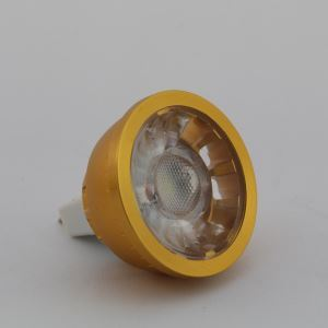 MR16 LED Spotlight Gold Color