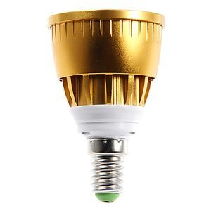 E14  LED Spotlight Gold Color