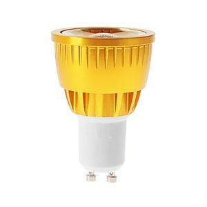 GU10  LED Spotlight Gold Color
