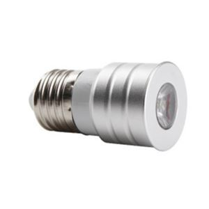 E27 LED Spotlight Silver Color