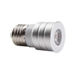 E27 LED Spotlight Silver Color