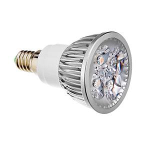 E14 LED Spotlight Silver Color